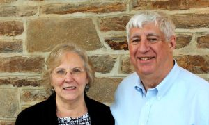Picture of deacons Ken and Linda Smith - church leadership page - First Baptist Church of Kennett Square, PA 19348