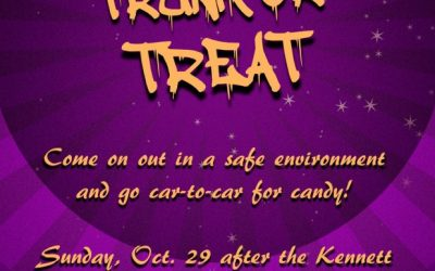 Trunk-or-Treat cancelled