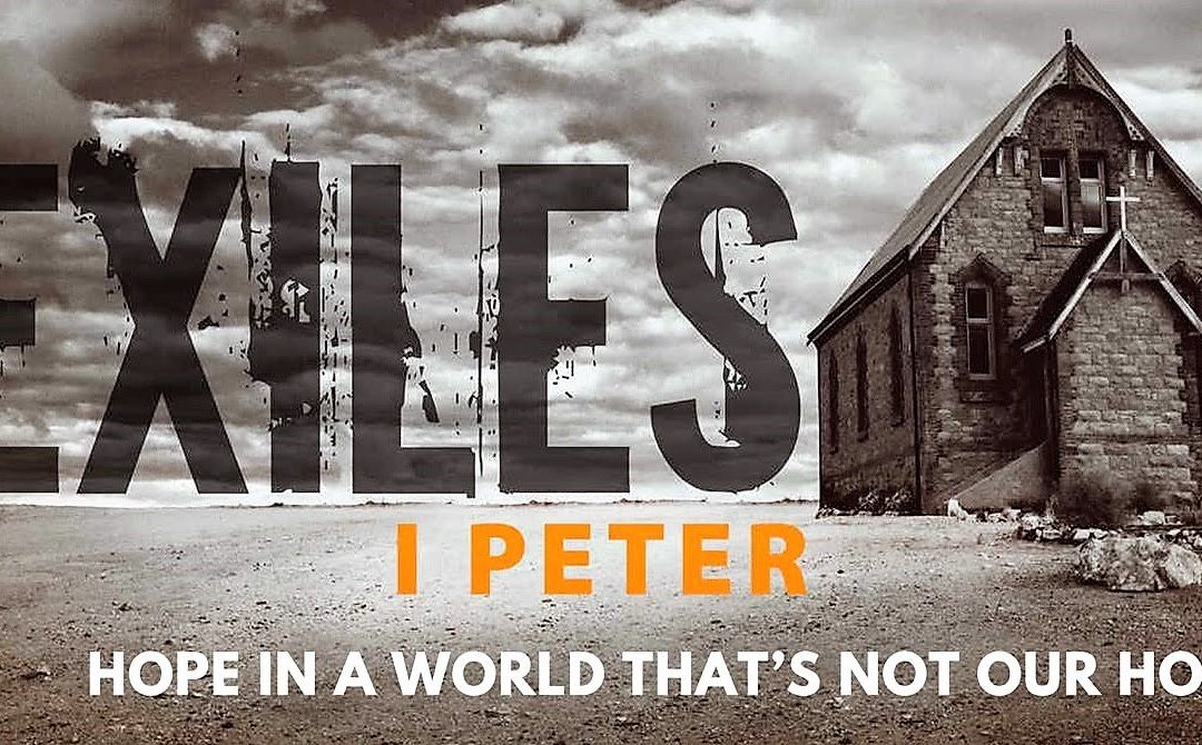 New Sermon Series Starting April 15th: Exploring the teaching of 1st Peter